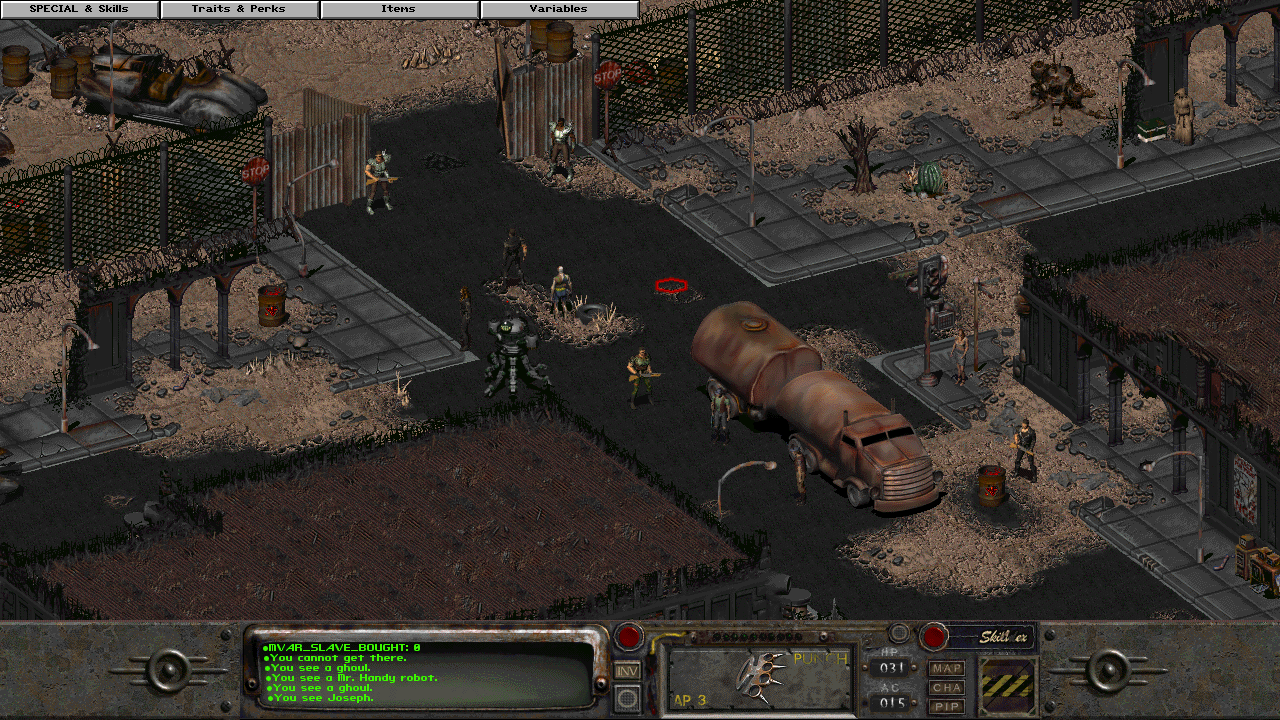 Fallout 2: Whispering Winds | AdVexx