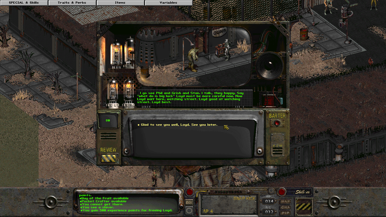 Fallout 2 mod - Announcement: Whispering Winds | No Mutants